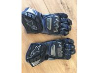Alpinestars SP1 motorcycle gloves size L