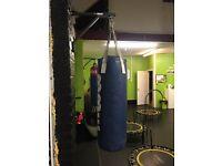 Small punch bag and bracket