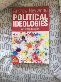 Political ideologies , An introduction (5th ed) - Andrew Heywood