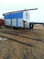 Mobile Seed and Grain Cleaner