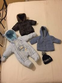 0-3 months Baby Boys coats