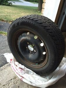 Used tires and rims  215 /60R 16