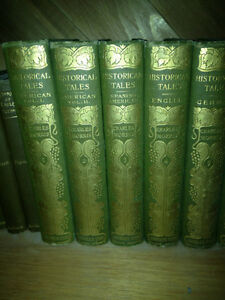 1908 Charles Morris Historical Tales all 15 Volumes