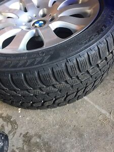 BMW winter tires and rims Kingston Kingston Area image 2