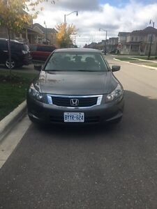 2008 honda Accord Low Km No accidents Certified