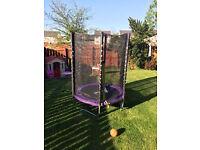 Plum stardust 4.5 ft trampoline