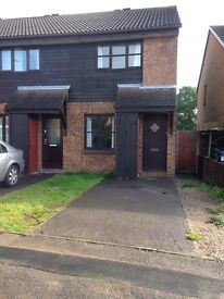 2 bed semi with garden *pets considered*