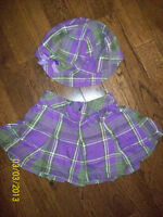 The Children's Place Skirt & Hat, Size 18-24 months