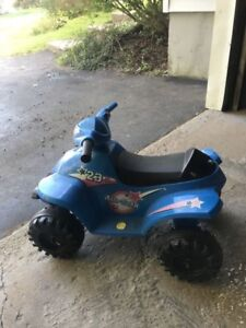 Kids electric 4 wheeler