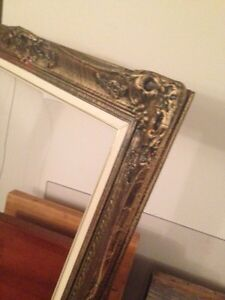 Large Picture Frame, ready for decor project, nice for $10