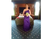 David Bridal, Purple Bridesmaid dress - Size 10