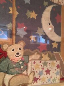Nursery themed framed tapestry Kitchener / Waterloo Kitchener Area image 3