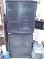 COMPLETE POWER HOUSE PA SYSTEM $3200