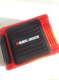 Black & Decker Cigarette Lighter Booster Jump Starter No Charger Wire Can Deliver