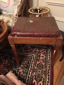 Antique High Chair and Sewing Stool Peterborough Peterborough Area image 3
