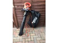 Black and Decker Leaf blower/Vaccum