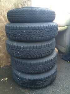 155/80/R13 winter tires with rims!  Cornwall Ontario image 3