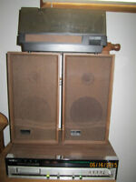 Record Player-Radio-8 Track Stereo System