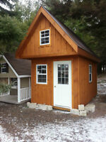 Prefab Bunkies and Cottages from only $9500! Delivery available!