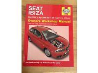 Haynes Manual Seat Ibiza