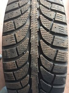 205/55/16 Winter tires on 5x112 rims excellent shape