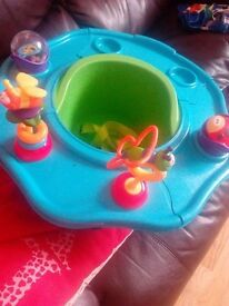 baby ring seat with toys