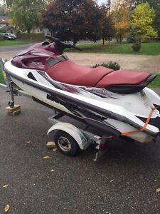 Wave runner with some cosmetic damage