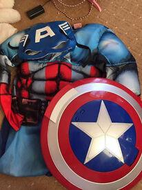 Captain America Costumen and Accessories