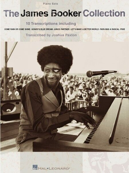 The James Booker Collection Sheet Music Piano Solo NEW 000306224