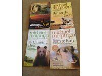 Set of 4 books by Michael Morpurgo