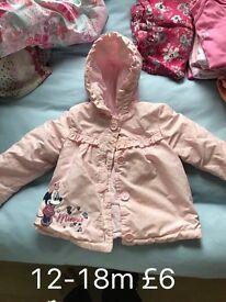 12-18 Month Minnie coat