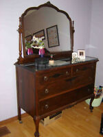 Antique Bedroom Set - Cherry Gibbard from the early 1900's