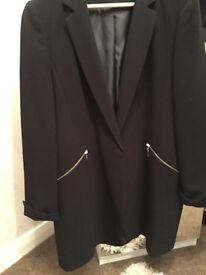Long line blazer