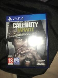 PS4 Game COD WW2 USED