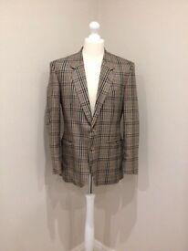 Crombie men's wool and silk jacket