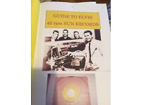Guide to authentic Elvis 45RPM sun records 1954- 1955