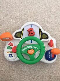 Lights & Sounds steering wheel