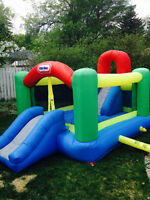 Little Tykes Bouncy House with slide - Dry