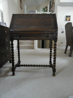 Antique Jacobean Secretary Desk way more than  100 years old
