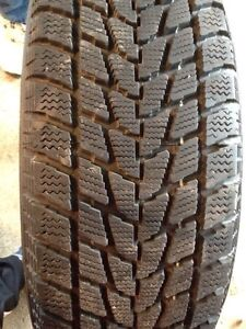 Winter tires - used 1 season. Approx 12000 kms