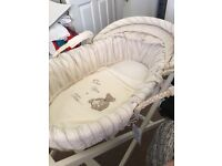 Once upon a time Moses basket