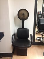 A professional dryer and chair $80:00