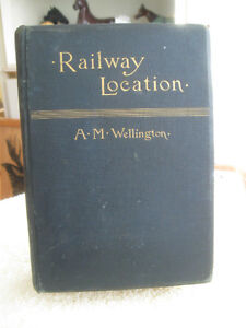 "COLLECTOR'S OLD ANTIQUE [1911] EDITION ""LOCATION of RAILWAYS"""