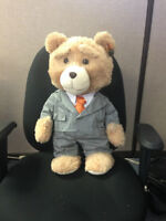 2 x Ted Plush (one talks) 18inch and 2x24 inch Ted's -new