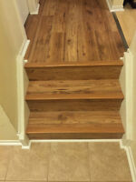 Laminate and tile floor installation! Spring Special!