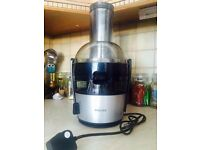 Phillips Juicer 1.5L - barley used!! Works flawlessly - easy to clean