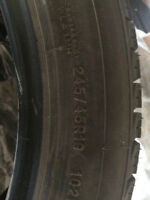Winter Tires 245/45R19 Michelin X-ICE(Almost New)
