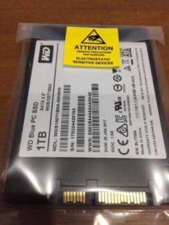 Brand New 1TB WD 2.5 Blue SATA 6Gbs SSD Drive PN WDS100T1B0