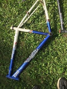 Bike frames and parts