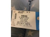 1 Crystal Castles Standing Ticket
